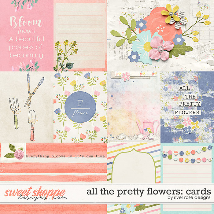 All the Pretty Flowers: Cards by River Rose Designs