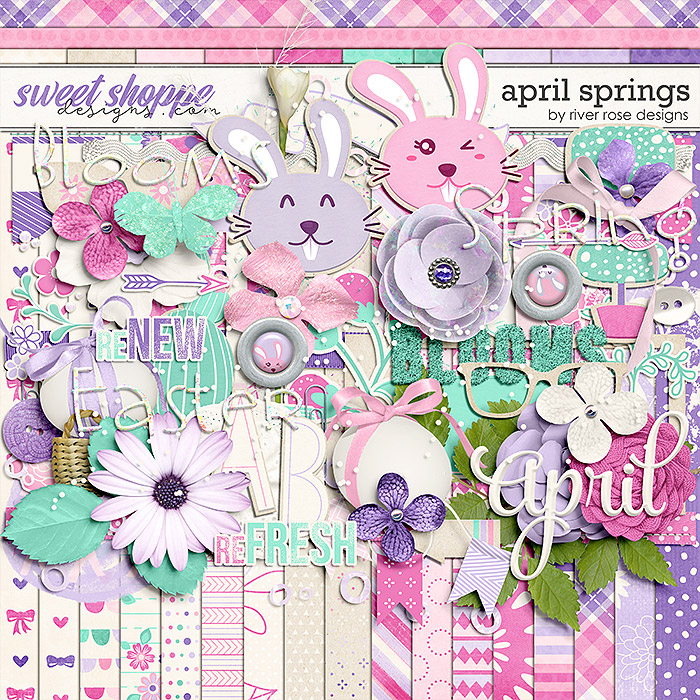 April Springs: Kit by River Rose Designs