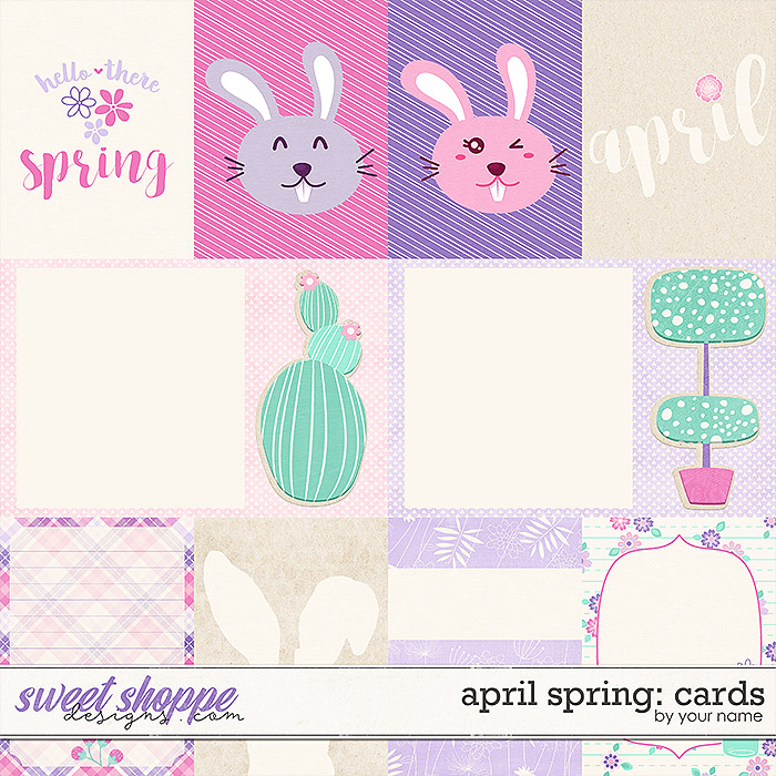 April Springs: Cards by River Rose Designs