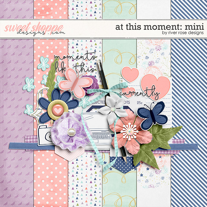 At This Moment: Mini Freebie by River Rose Designs