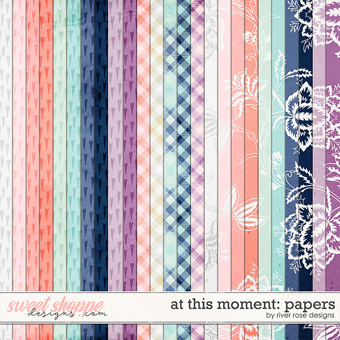 At This Moment: Papers by River Rose Designs