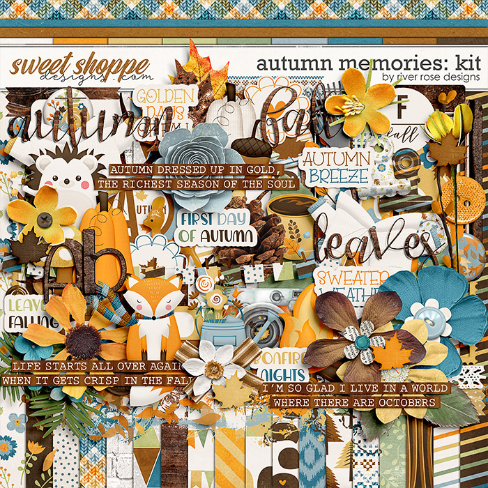Autumn Memories: Kit by River Rose Designs