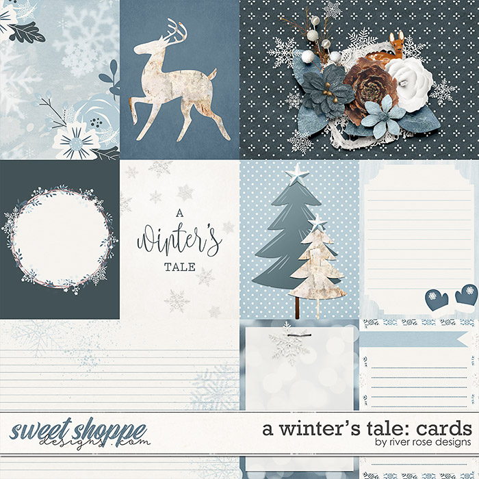 A Winter's Tale: Cards by River Rose Designs
