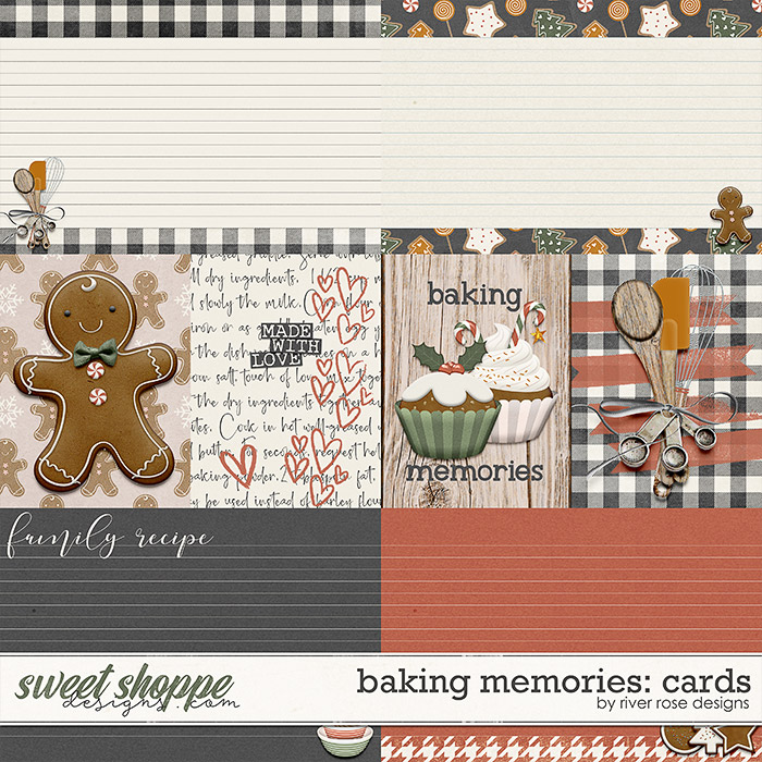 Baking Memories: Cards by River Rose Designs