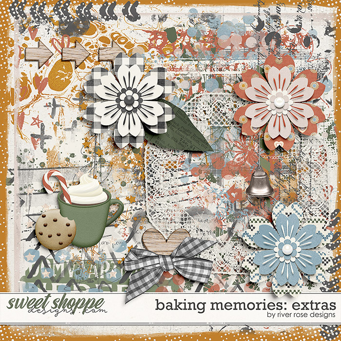 Baking Memories: Extras by River Rose Designs