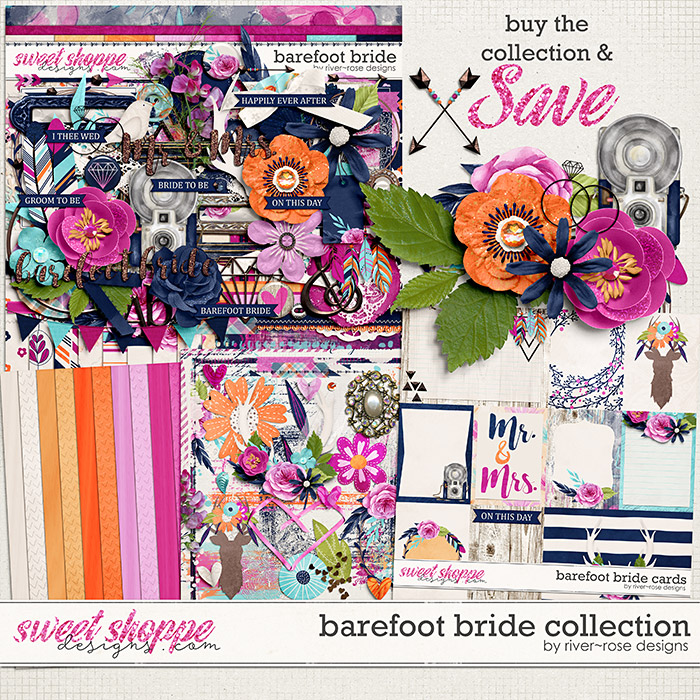 Barefoot Bride Collection by River Rose Designs