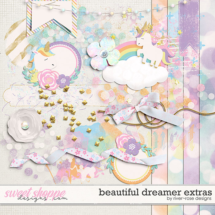 Beautiful Dreamer Extra Elements by River Rose Designs