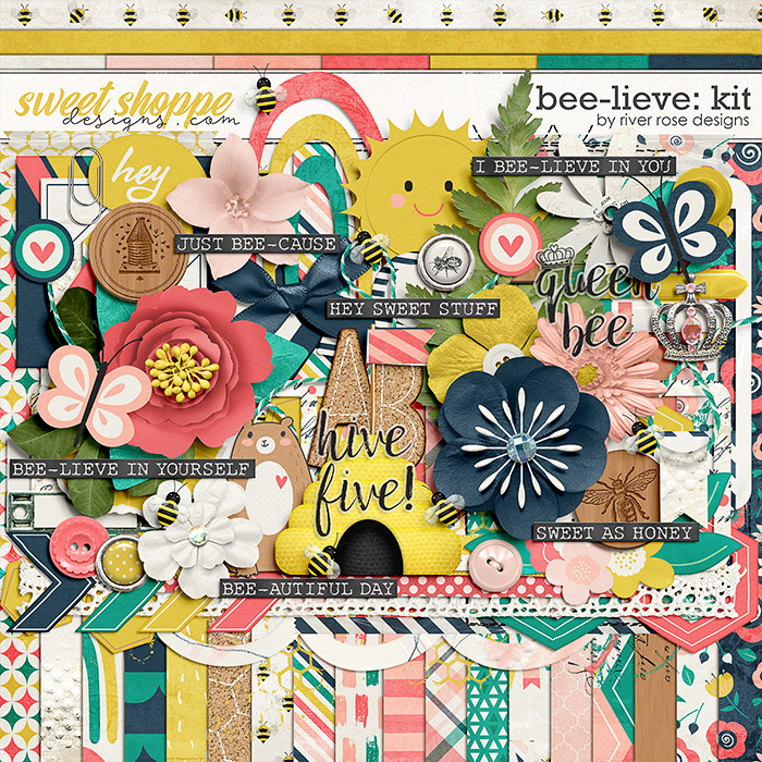 Bee-lieve: Kit by River Rose Designs