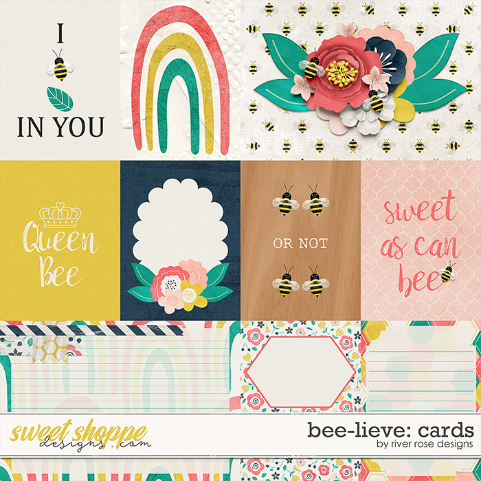 Bee-lieve: Cards by River Rose Designs