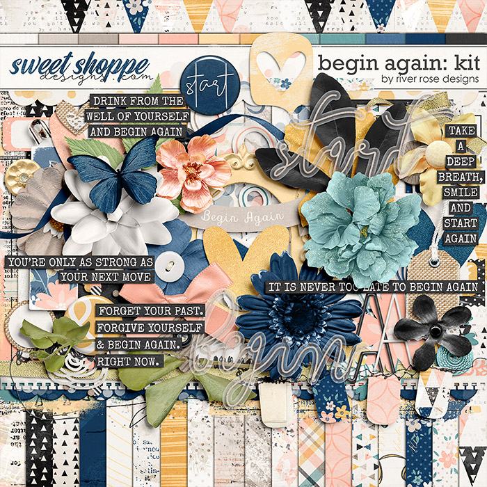 Begin Again: Kit by River Rose Designs