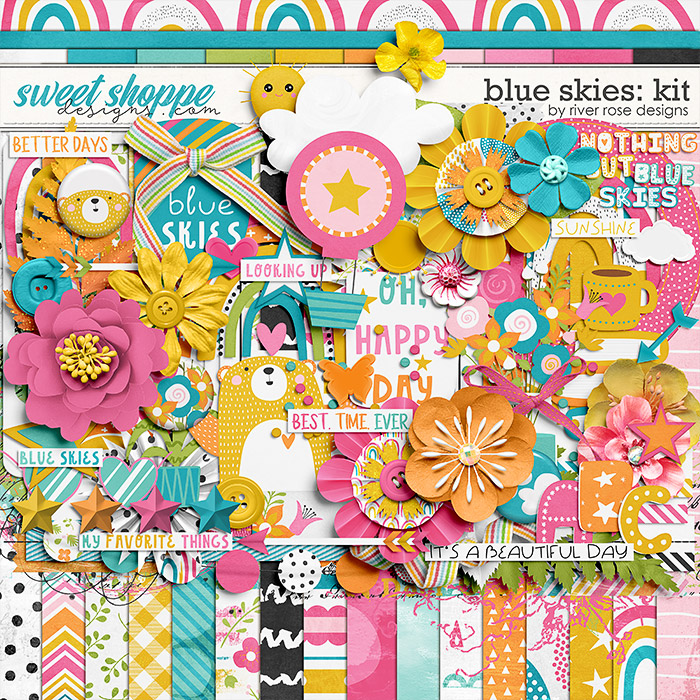 Blue Skies: Kit by River Rose Designs
