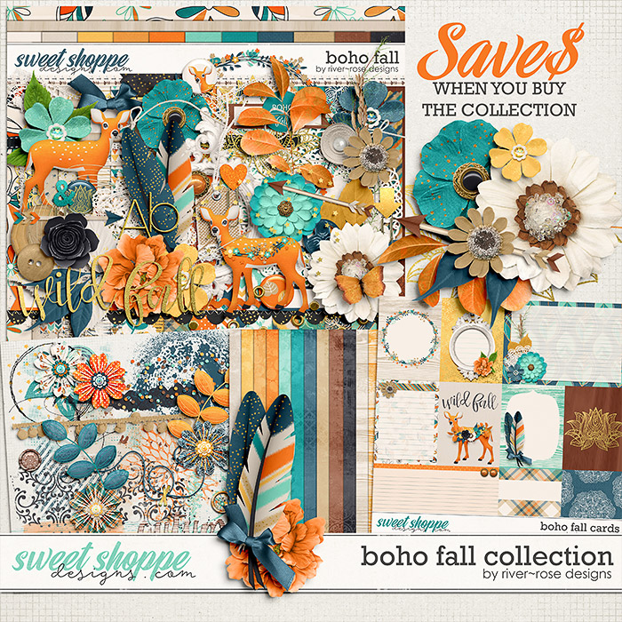 Boho Fall Collection by River Rose Designs