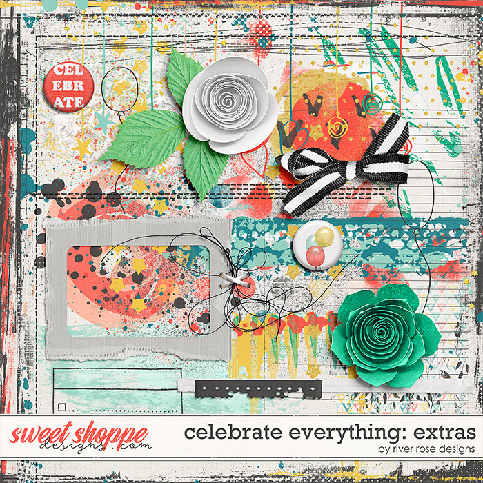 Celebrate Everything: Extras by River Rose Designs