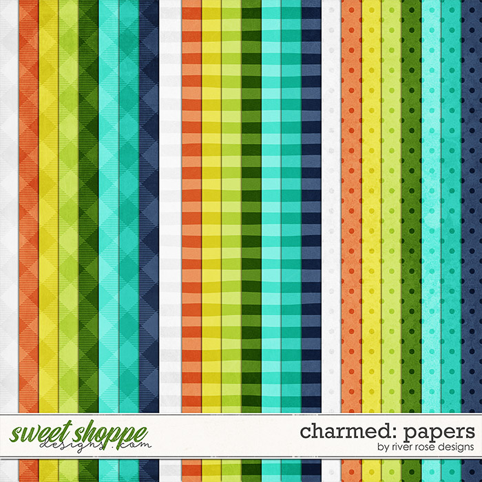 Charmed: Papers by River Rose Designs