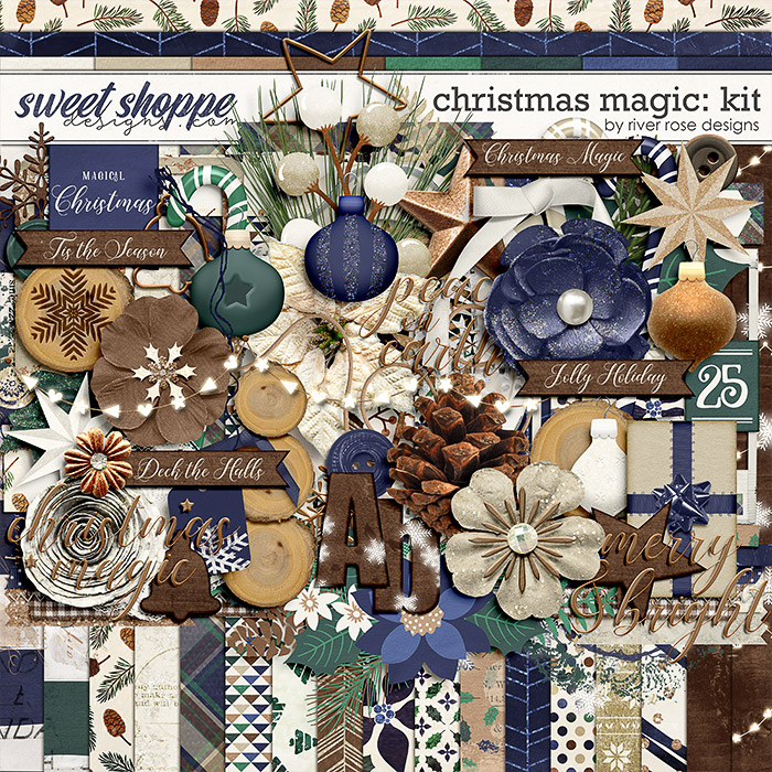 Christmas Magic: Kit by River Rose Designs