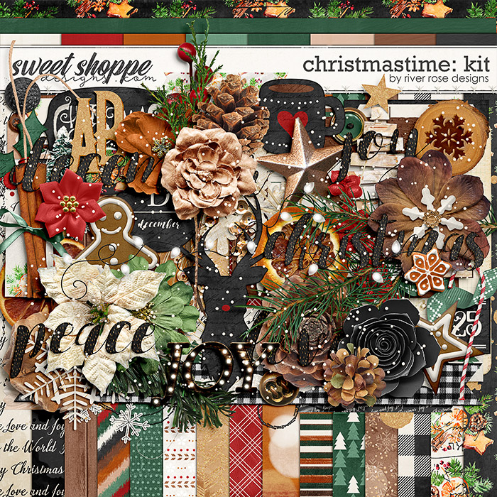 Christmastime: Kit by River Rose Designs