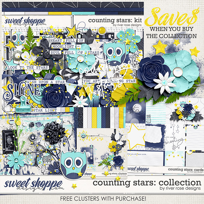 Counting Stars: Collection + FWP by River Rose Designs
