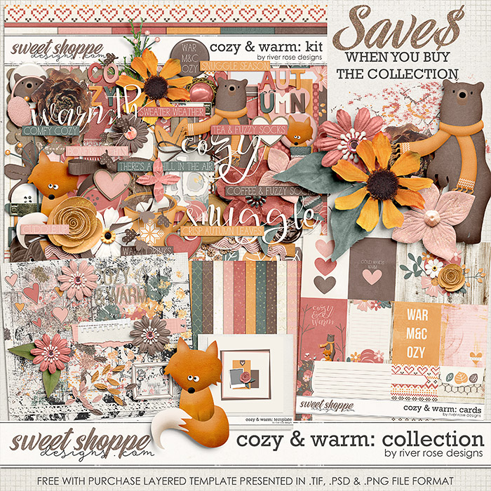 Cozy & Warm: Collection + FWP by River Rose Designs