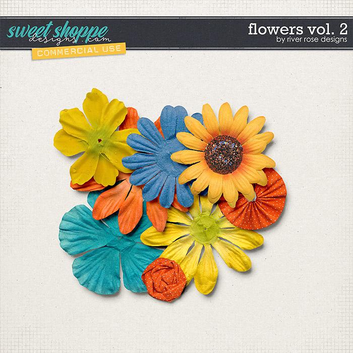 CU Flowers Vol. 2 by River Rose Designs