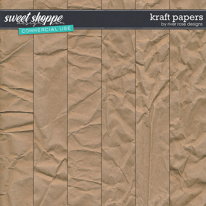 CU Kraft Papers by River Rose Designs