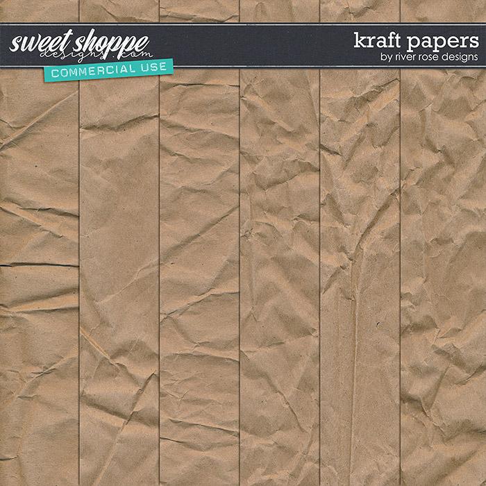 CU Kraft Papers by River Rose Designs