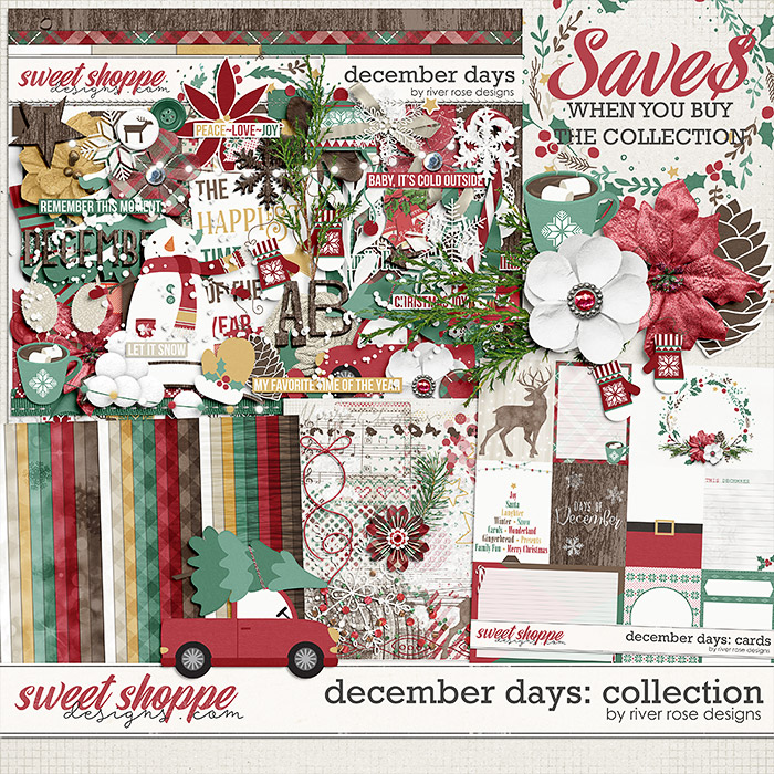 December Days Collection by River Rose Designs
