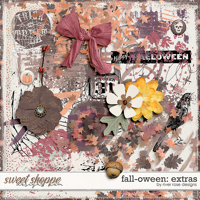 Fall-oween: Extras by River Rose Designs