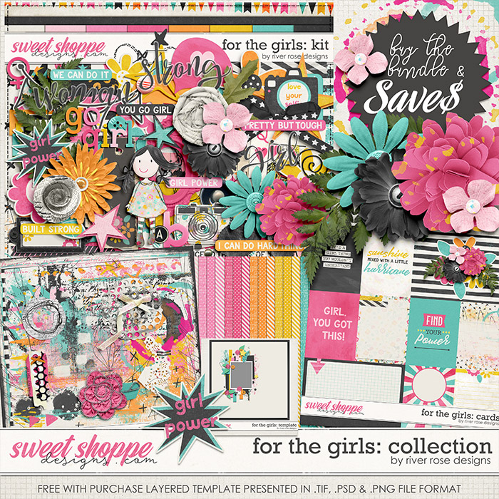 For the Girls: Collection by River Rose Designs