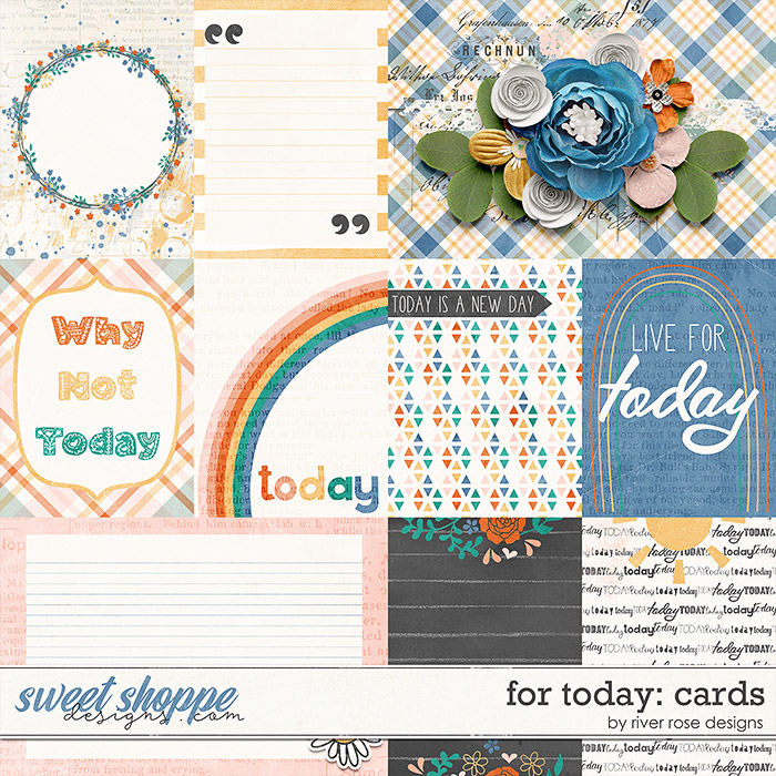 For Today: Cards by River Rose Designs