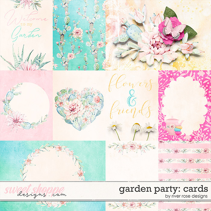 Garden Party: Cards by River Rose Designs