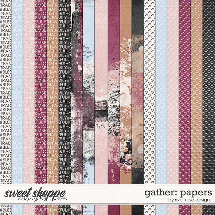 Gather: Papers by River Rose Designs