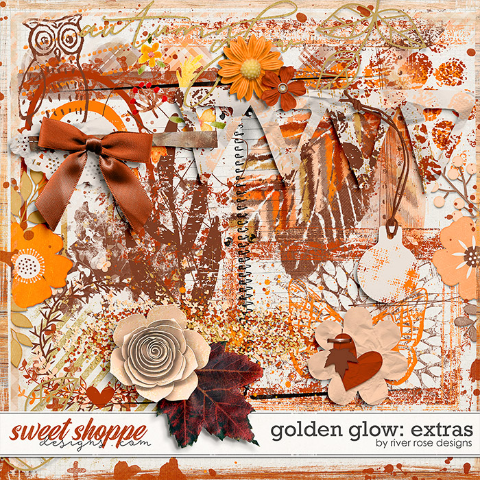 Golden Glow: Extras by River Rose Designs