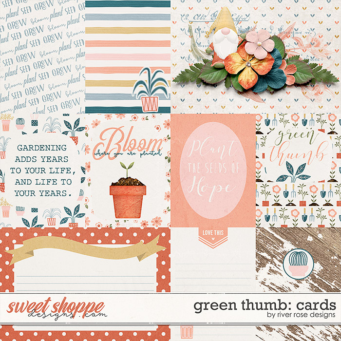 Green Thumb: Cards by River Rose Designs