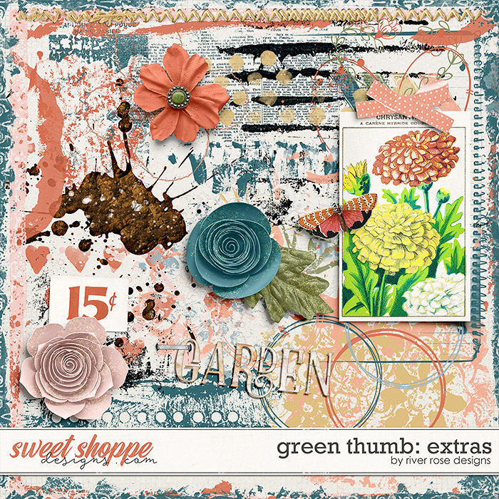 Green Thumb: Extras by River Rose Designs