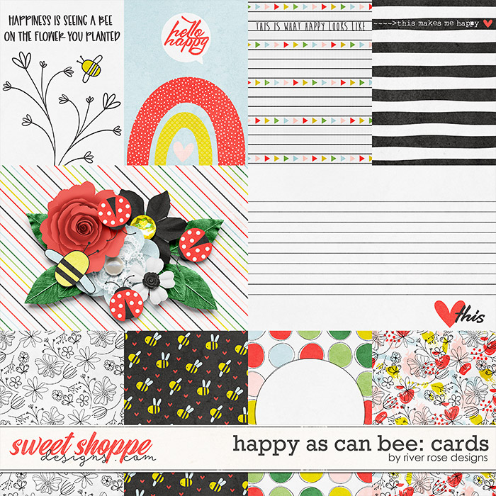 Happy As Can Bee: Cards by River Rose Designs