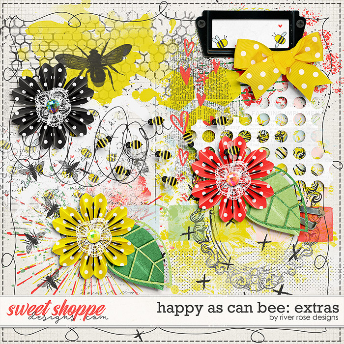 Happy As Can Bee: Extras by River Rose Designs