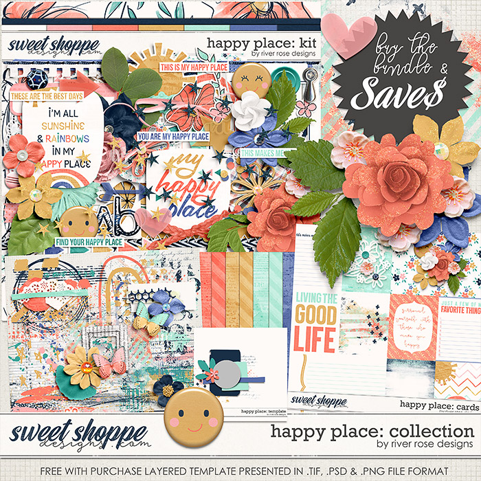 Happy Place: Collection + FWP by River Rose Designs