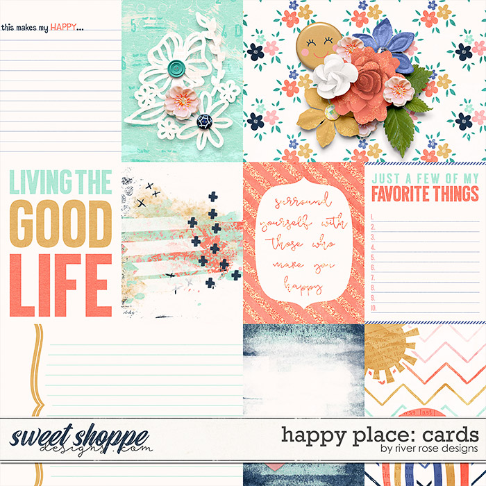 Happy Place: Cards by River Rose Designs