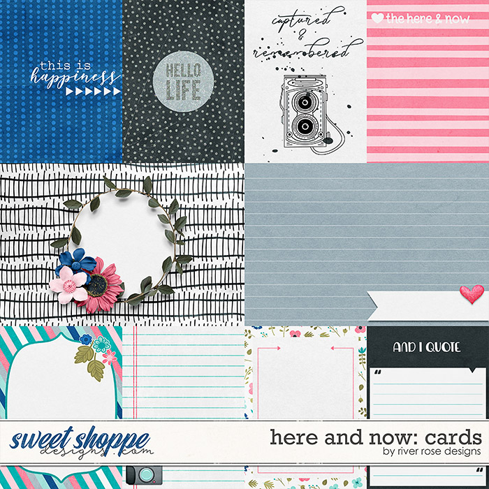 Here and Now: Cards by River Rose Designs