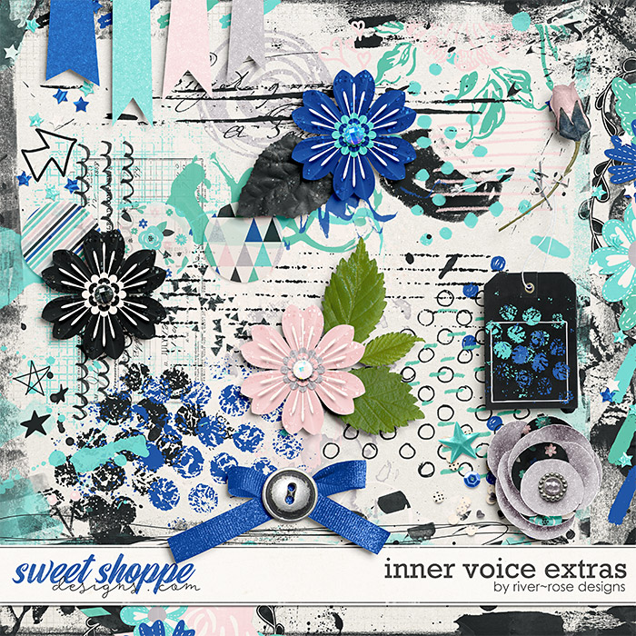 Inner Voice Extra Elements by River Rose Designs