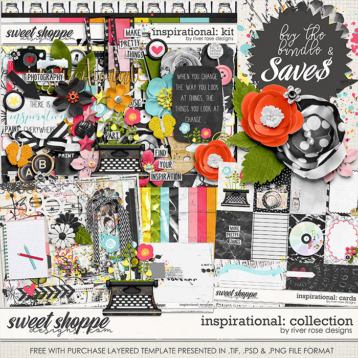 Inspirational: Collection + FWP by River Rose Designs