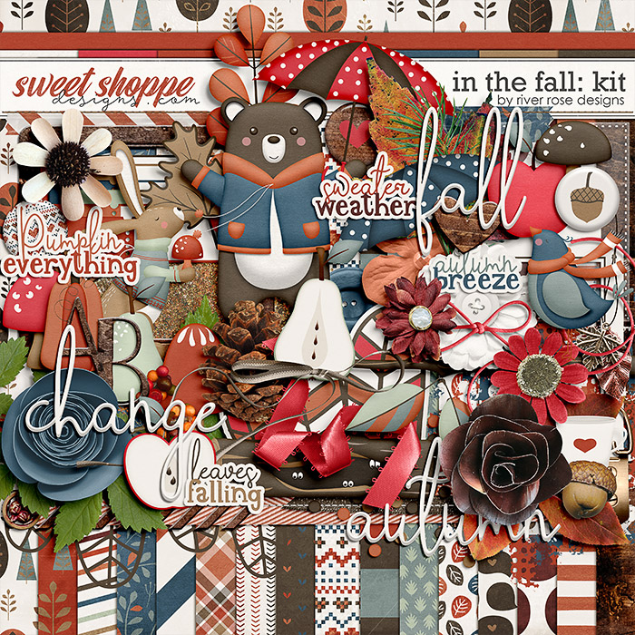 In the Fall: Kit by River Rose Designs