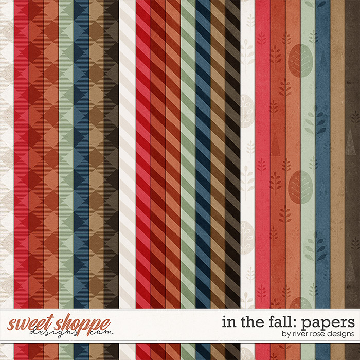 In the Fall: Papers by River Rose Designs