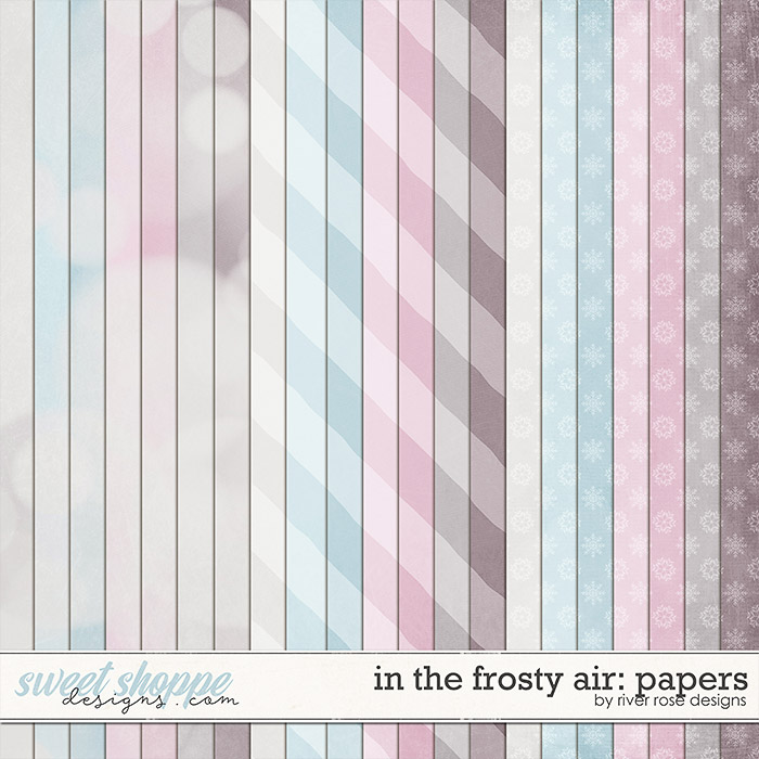 In the Frosty Air Papers by River Rose Designs