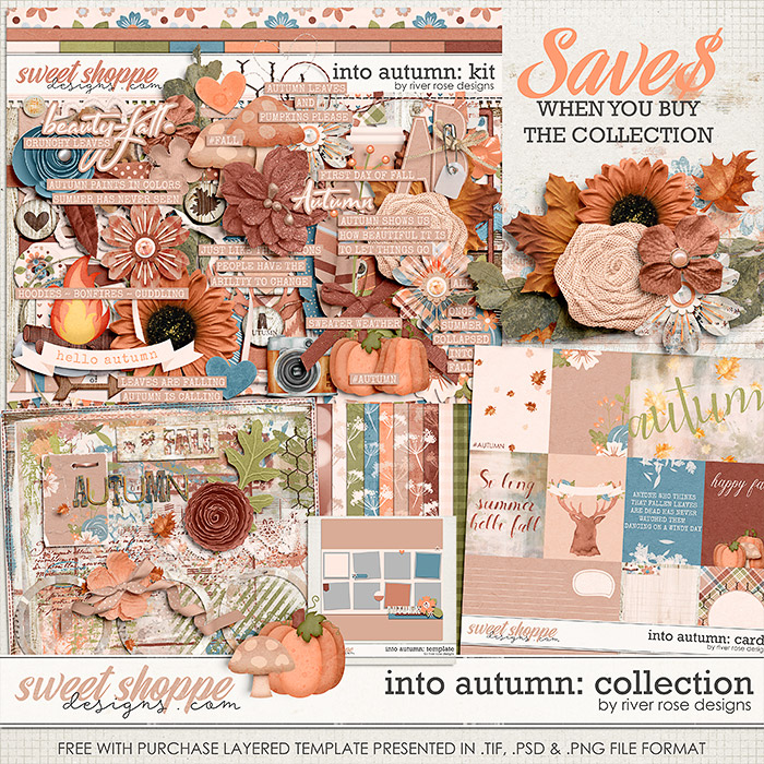 Into Autumn: Collection + FWP by River Rose Designs