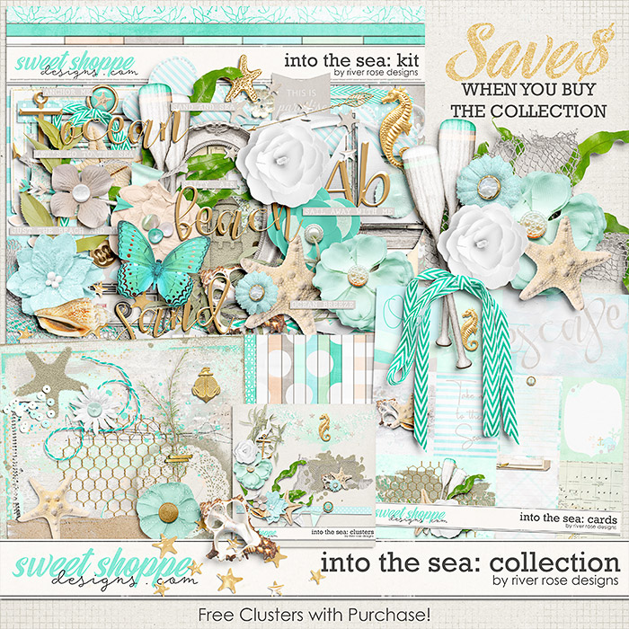 Into the Sea: Collection + FWP by River Rose Designs