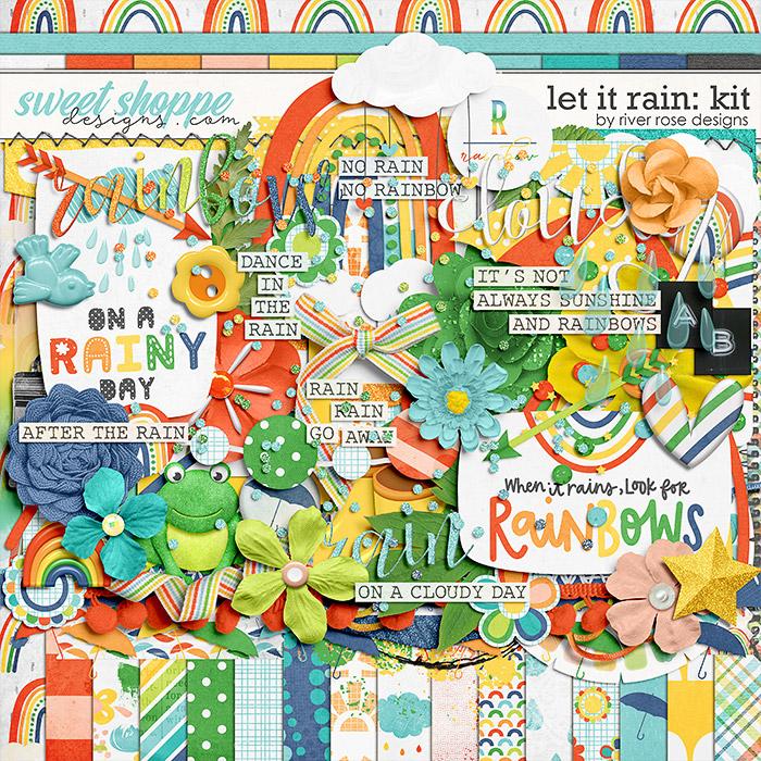 Let it Rain: Kit by River Rose Designs