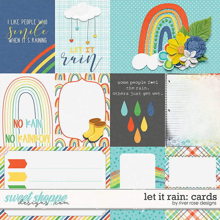 Let it Rain: Cards by River Rose Designs