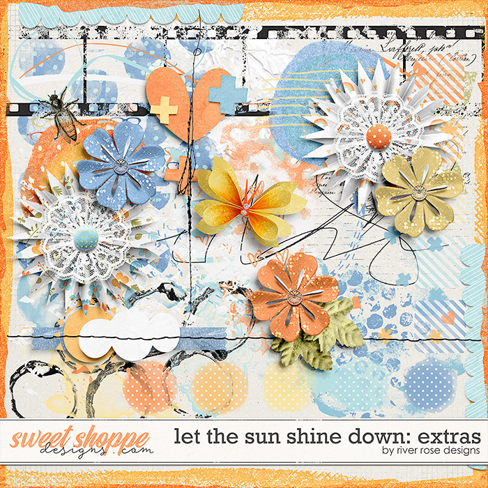 Let the Sun Shine Down: Extras by River Rose Designs