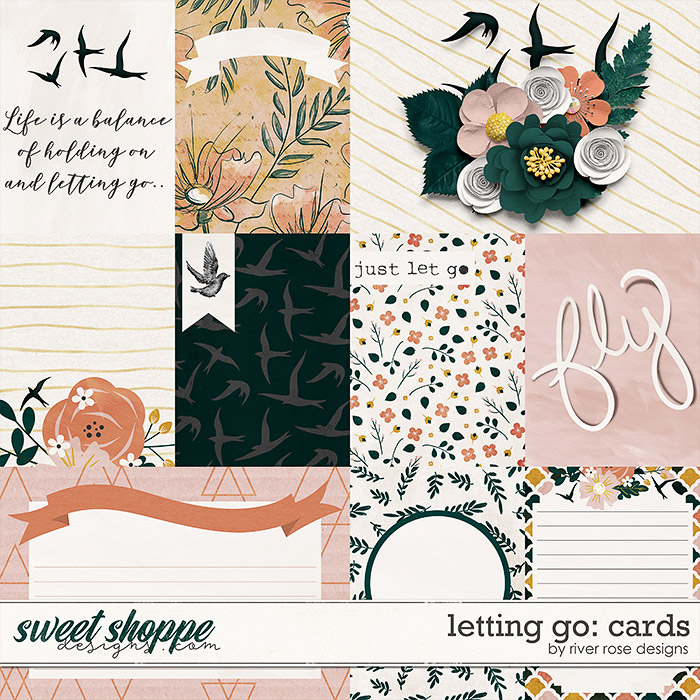Letting Go: Cards by River Rose Designs
